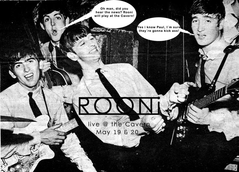 Beatles + Rooni